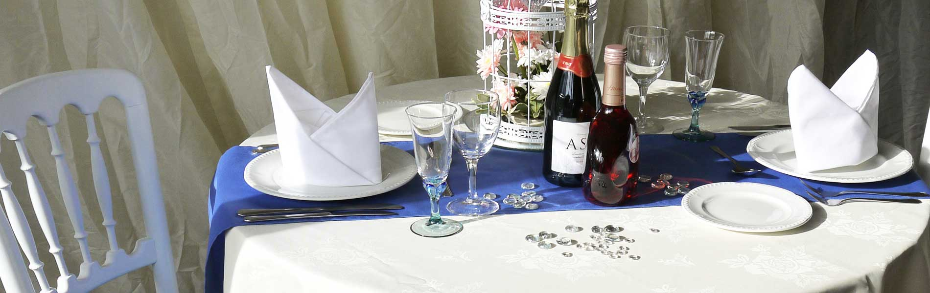 Quality wedding furniture for hire