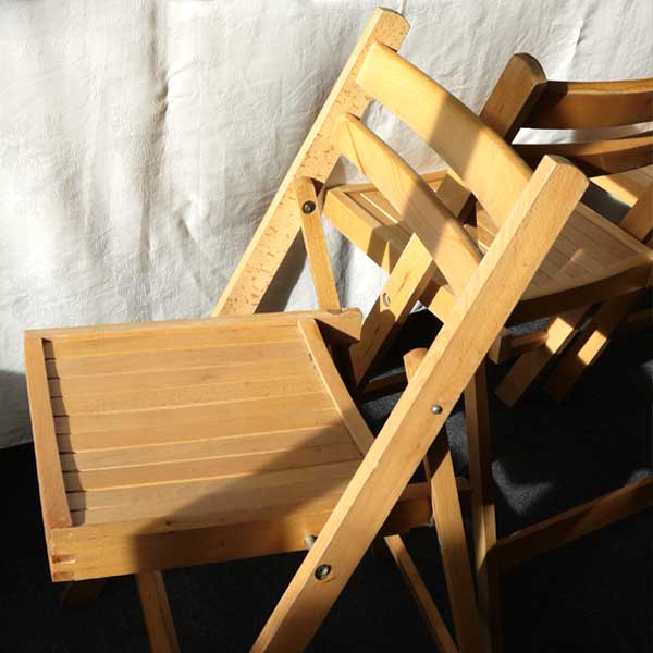 Folding Beech Wood Chair